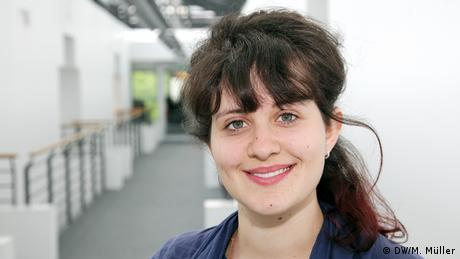 Internationale Volontäre der Deutschen Welle Emily Sherwin