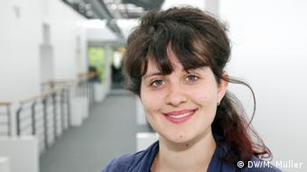 Internationale Volontäre der Deutschen Welle Emily Sherwin