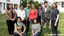 DW's International trainees 2014-2015 (photo: DW/Matthias Müller).