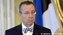 Estland Präsident Hendrik Ilves