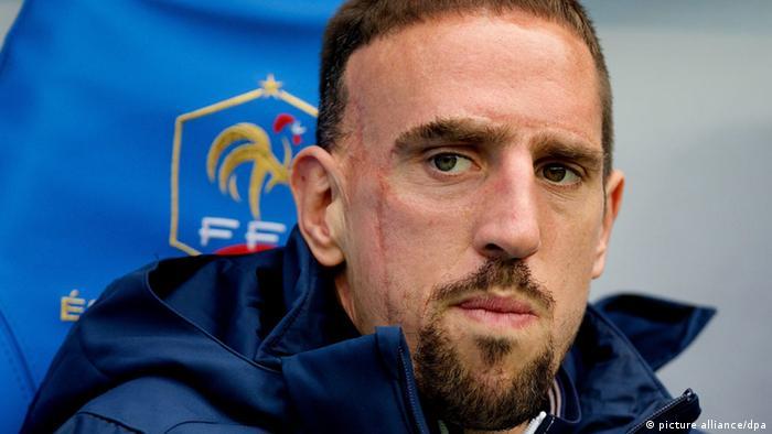 Frankreich Nationalmannschaft Franck Ribery