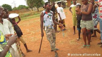 Symbole de la criminalité en Centrafrique