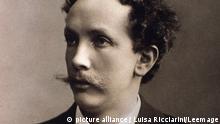 Portrait of Richard Strauss (1864-1949) german composer. Photograph. Bologne, civico museo musicale ©Luisa Ricciarini/Leemage