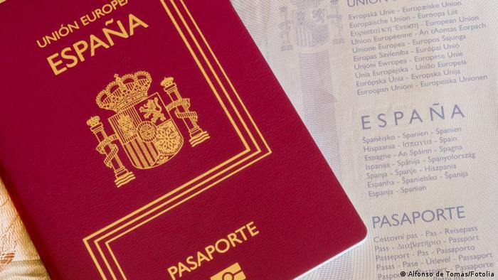 Spanischer Reisepass
