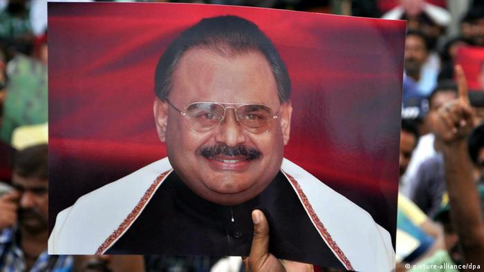 Altaf Hussain Mutahida Qaumi Movement Pakistan