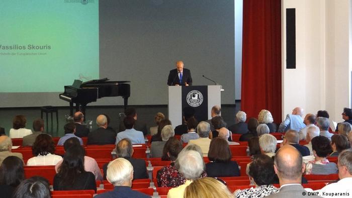 Freie Universität Berlin Eröffnung Centrum Modernes Griechenland