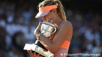Sharapova gewinnt die French Open 2014 (Foto: PASCAL GUYOT/AFP/Getty Images)