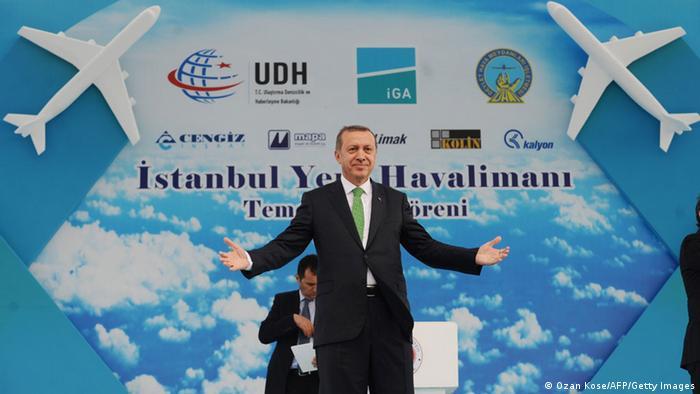 Türkei Flughafen Erdogan 7.6.2014