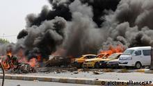 Symbolbild Irak Anschlag Bagdad