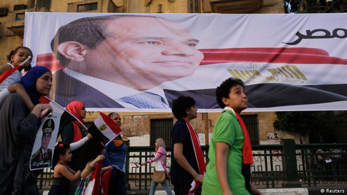 Ägypten Feier Wahlsieg Al-Sisi 03.06.2014