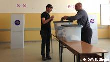 Election in Kosovo, polling station. *** Bekim Shehu DW correspondent from Kosovo. Date: 08.06.2016