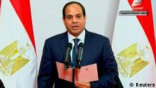 Ägypten Präsident Abdel-Fattah al-Sisi Vereidigung 08.06.2014 QUALITÄT
