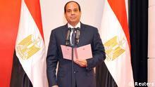 Ägypten Abdel-Fattah al-Sisi Vereidigung 08.06.2014