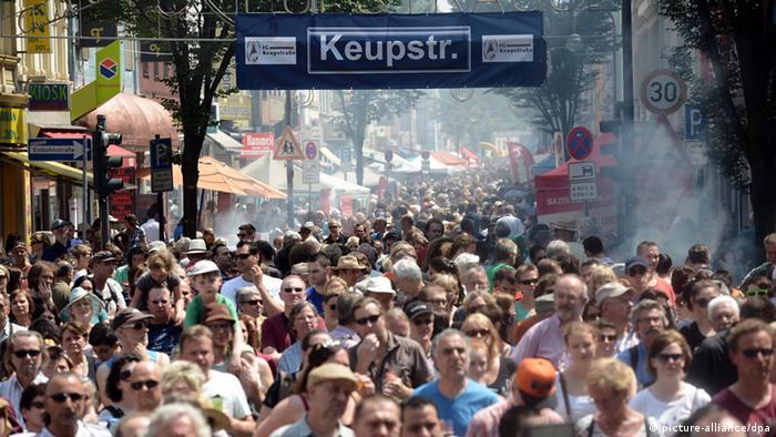 Köln Birlikte Kulturfest Gedenken an NSU-Anschlag Keupstraße