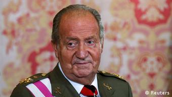 Abdicated Spanish King Juan Carlos