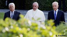 Papst Franz Mahmoud Abbas Shimon Peres Gebetstrefen in Vatikan