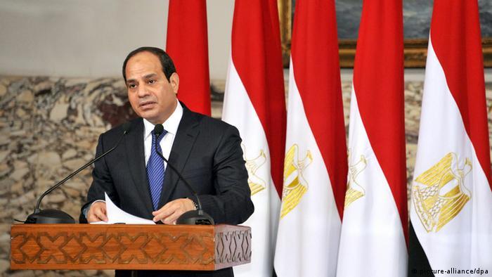 Egyptian President Abdel-Fattah el-Sissi