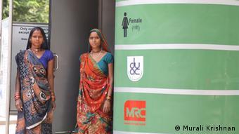 High Tech Toiletten in Indien