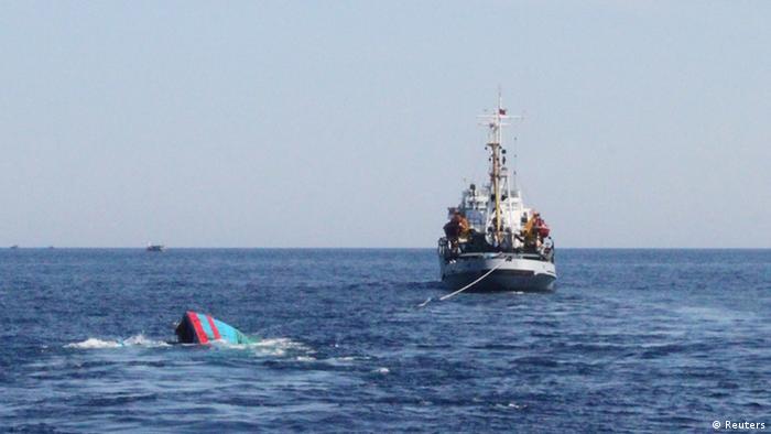 China wirft Vietnam gezielte Karambolage auf hoher See vor 9.6.2014