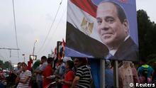 Ägypten Präsident Vereidigung Abdel Fattah al-Sisi