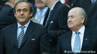 Platini und Blatter