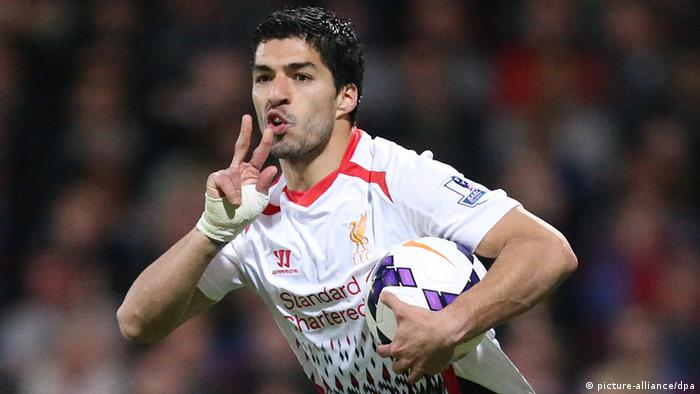 Fußball FIFA World Cup 2014 Luis Suarez Liverpool