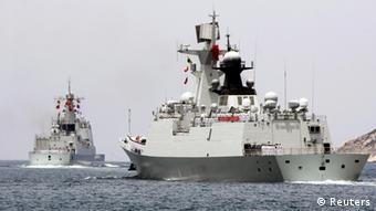 China Seemanöver USA 09.06.2014