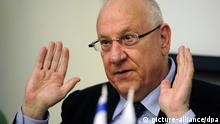 Reuven Rivlin Israel Knesset Sprecher
