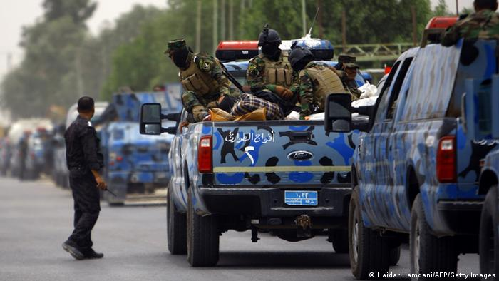 Irakische Soldaten werden nach Mosul verlegt 08.06.2014