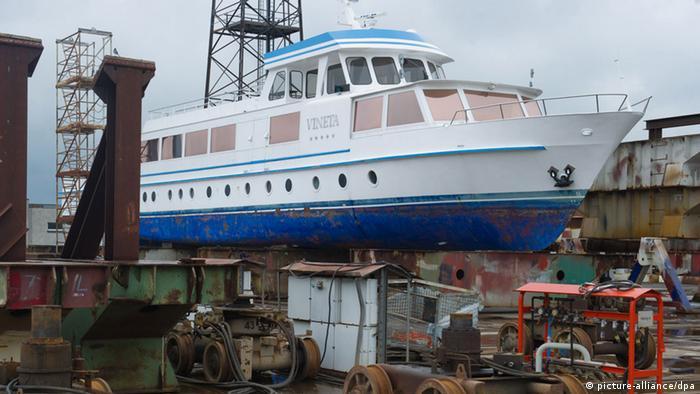 Яхта Vineta, ранее называвшаяся A. Köbis
