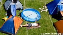 Zelten beim Rock im Park 2014 Nürnberg