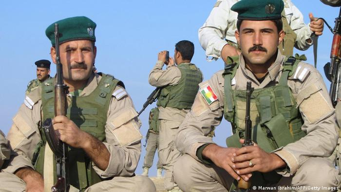 Peshmerga Kämpfer Irak Archivbild 2012 bei Tuz Khurmatu