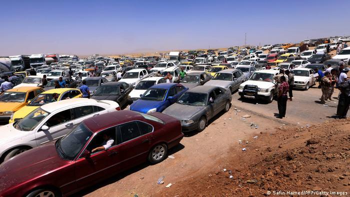 Flüchtlinge in Irak 10.06.2014