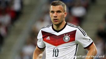 Podolski no era la solución que Löw buscaba.