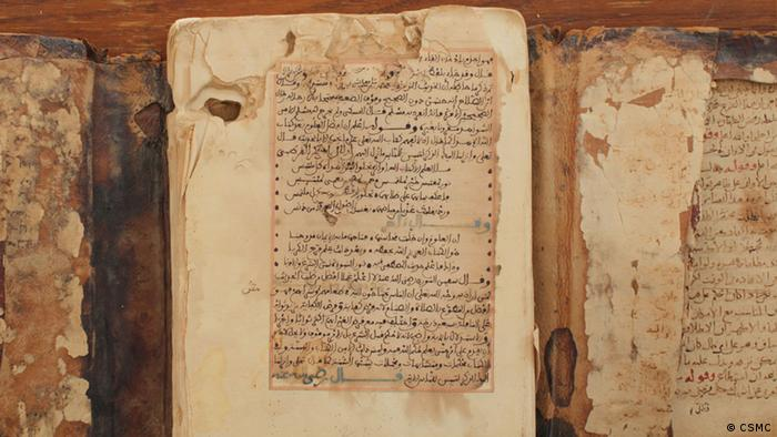 Manuskripte aus Timbuktu (Foto: Centre for the Study of Manuscript Cultures, CSM, der Universität Hamburg)