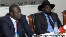 Riek Machar und Salva Kiir