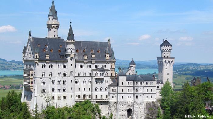 У баварському замку Нойшванштайн обмежели максимальну кількість відвідувачів удесятеро