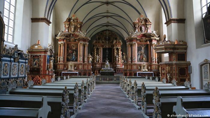 Монастырская церковь эпохи барокко