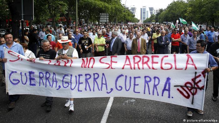 Так проти Uber страйкували водії таксі Мадрида