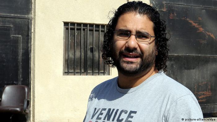 Ägyptischer Aktivist Alaa Abdel-Fatah