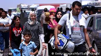 Bildergalerie Massenauswanderung nach Kurdistan-Irak wegen Daaisch
