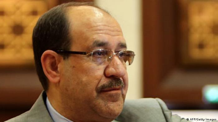 Der irakische Ministerpräsident Nuri al-Maliki (Foto: AFP/Getty Images)