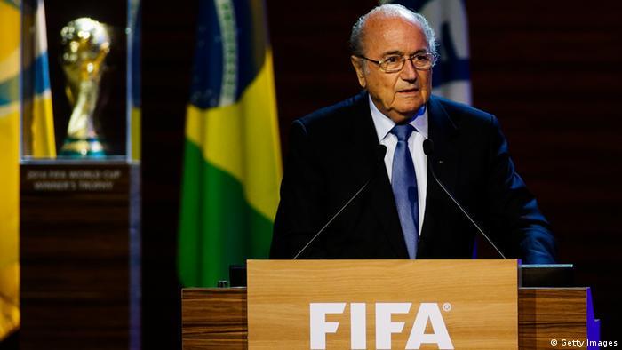 FIFA Präsident Sepp Blatter 11.6.2014
