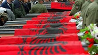 Kosovo Beerdigung