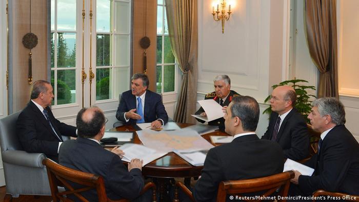 Turkey government emergency meeting