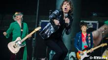 Keith Richards, Mick Jagger und Ron Wood  Copyright: Reuters
