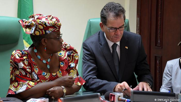 Bundesentwicklungsminister Gerd Müller in Nigeria
