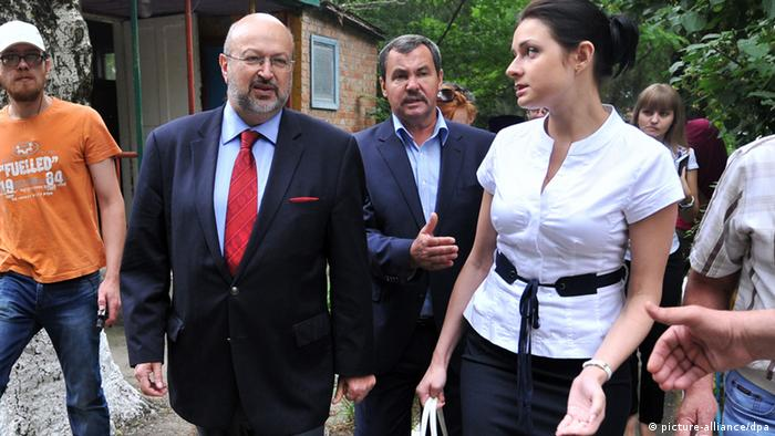 Lamberto Zannier OSZE Besuch in Ukraine 12.06.2014