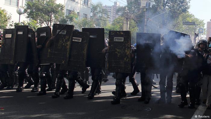 Sao Paolo Ausschreitungen 12.6.2014