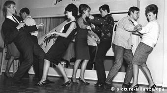 Deutschland Tanzschule Frankfurt 1961